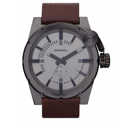 Diesel DZ4238 Horlogeband Bruin Leer