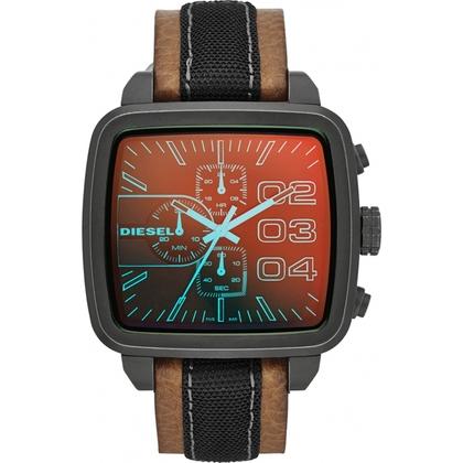 Diesel DZ4303 Horlogeband Bruin Leer