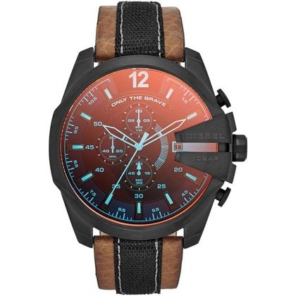 Diesel DZ4305 Horlogeband Bruin Leer