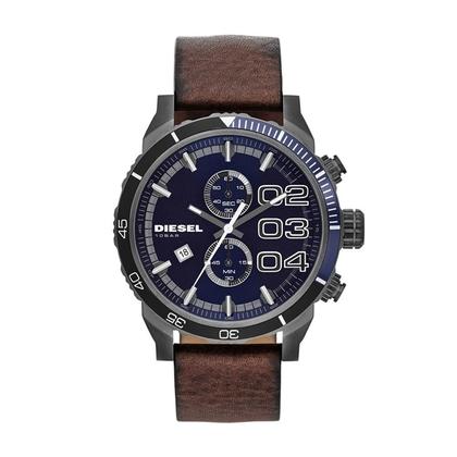 Diesel DZ4312 Horlogeband Bruin Leer