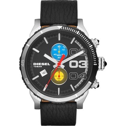 Diesel DZ4331 Horlogeband Zwart Leer