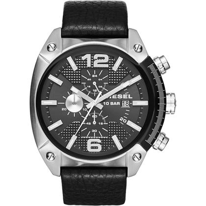 Diesel DZ4341 horlogeband Zwart Leer