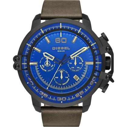 Diesel DZ4405 Horlogeband Bruin Leer