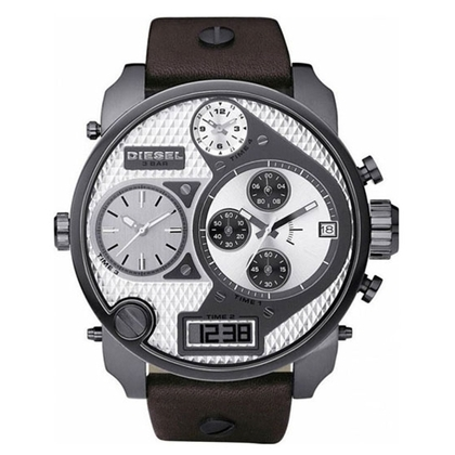 Diesel DZ7126 Horlogeband Bruin Leer