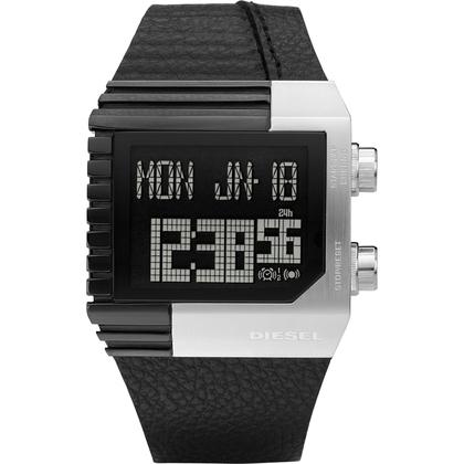 Diesel DZ7184 Horlogeband Zwart Leer