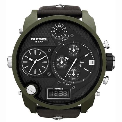 Diesel DZ7250 Horlogeband Bruin Leer
