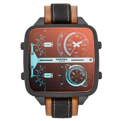 Diesel DZ7285 Horlogeband Bruin Leer