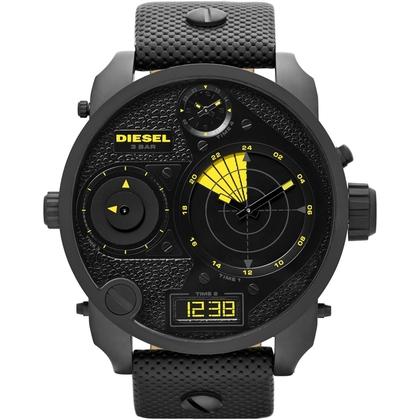 Diesel DZ7296 Horlogeband Zwart Leer