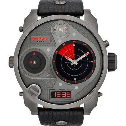 Diesel DZ7297 Horlogeband Zwart Leer