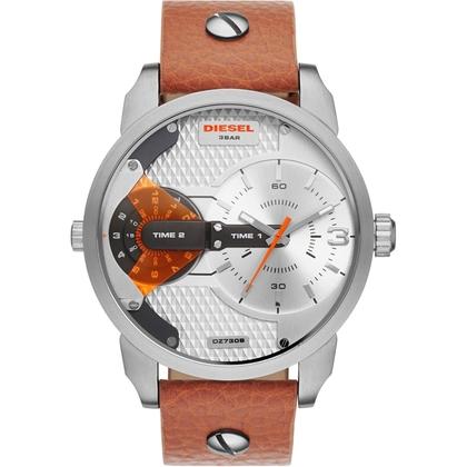 Diesel DZ7309 Horlogeband Bruin Leer