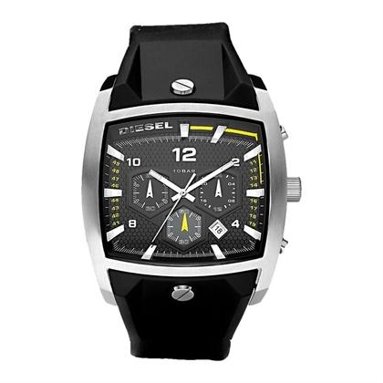 Diesel DZ4165 Horlogeband Zwart Rubber