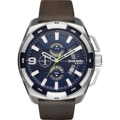 Diesel DZ4418 Horlogeband Bruin Leer