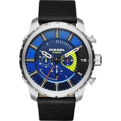 Diesel DZ4411 Horlogeband Zwart Leer