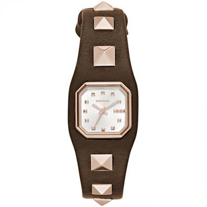 Diesel DZ5504 Horlogeband Bruin Leer