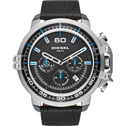 Diesel DZ4408 Horlogeband Zwart Leer