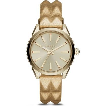 Diesel DZ5516 Horlogeband Goud Leer