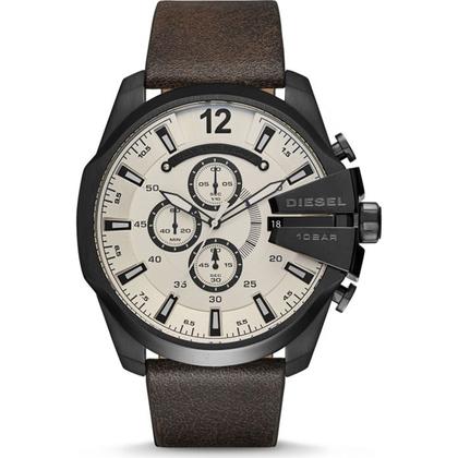Diesel DZ4422 Horlogeband Bruin Leer