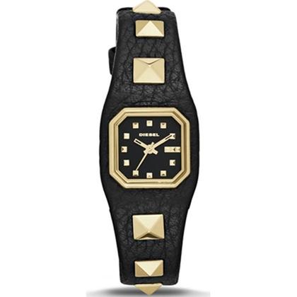 Diesel DZ5503 Horlogeband Zwart Leer