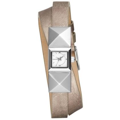 Diesel DZ5517 Horlogeband Zilver Leer