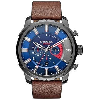 Diesel DZ4366 Horlogeband Bruin Leer