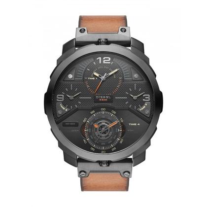 Diesel DZ7359 Horlogeband Bruin Leer