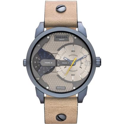 Diesel DZ7338 Horlogeband Beige Leer