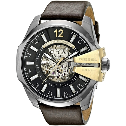 Diesel DZ4379 Horlogeband Bruin Leer