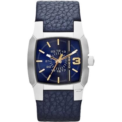 Diesel DZ1636 Horlogeband Blauw Leer