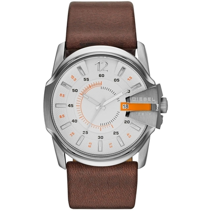 Diesel DZ1668 Horlogeband Bruin Leer