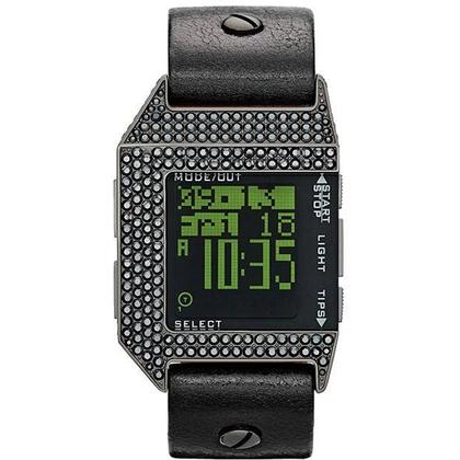 Diesel DZ7280 Horlogeband Zwart Leer