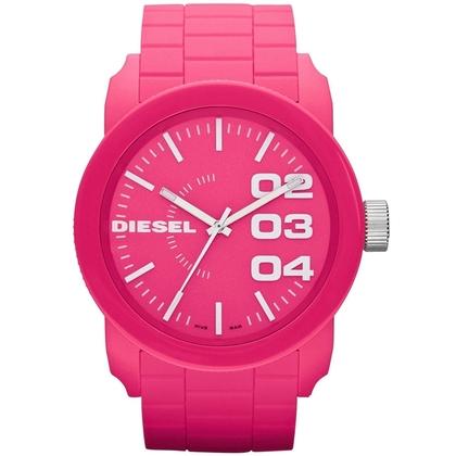 Diesel DZ1569 Horlogeband Roze Rubber