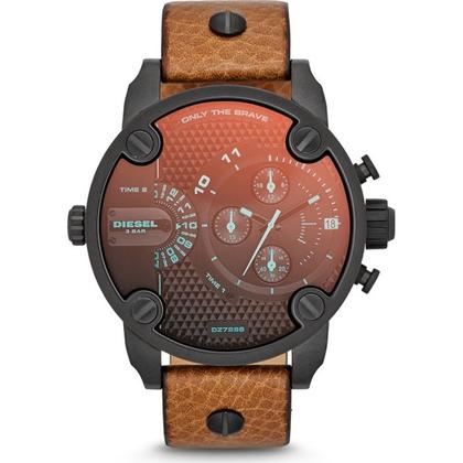 Diesel DZ7298 Horlogeband Bruin Leer