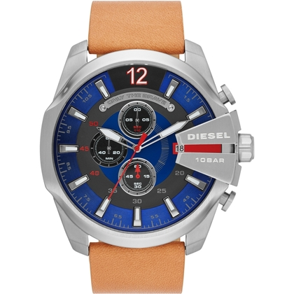Diesel DZ4319 Horlogeband Bruin Leer