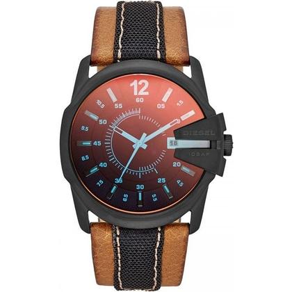 Diesel DZ1600 Horlogeband Bruin Leer