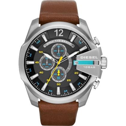 Diesel DZ4399 Horlogeband Bruin Leer