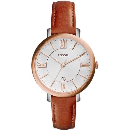 Fossil ES3842 Horlogeband Bruin Leer