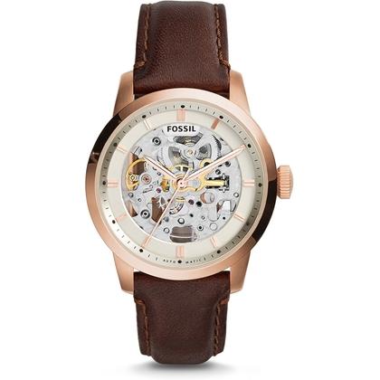 Fossil ME3078 Horlogeband Bruin Leer