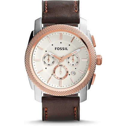 Fossil FS5040 Horlogeband Bruin Leer