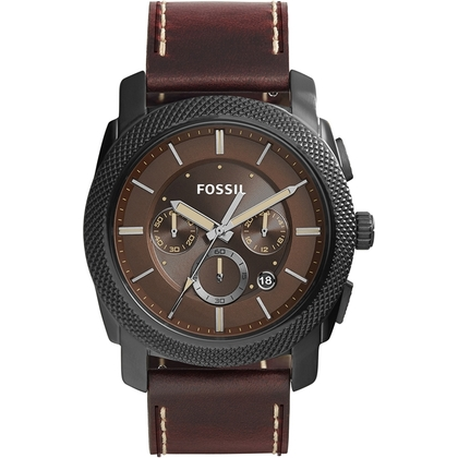 Fossil FS5121 Horlogeband Bruin Leer