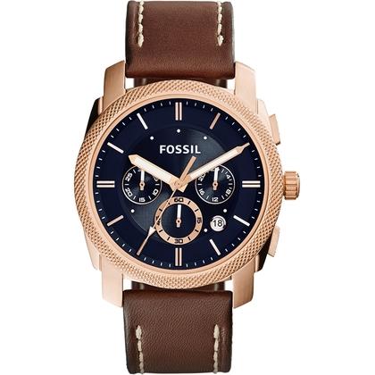 Fossil FS5073 Horlogeband Bruin Leer