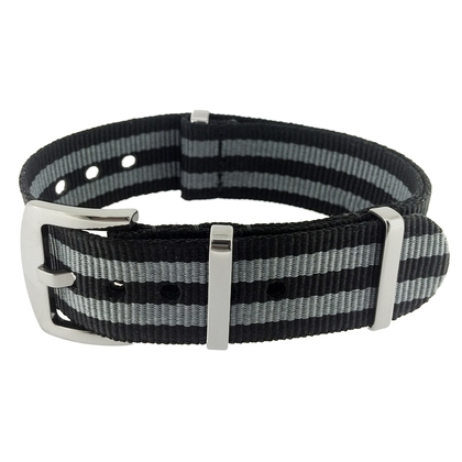 James Bond Superstrap Mega NATO Nylon Strap - SS/Matte