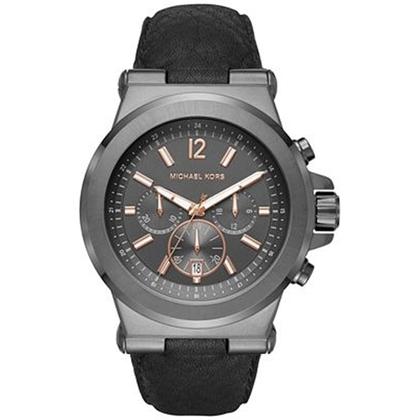 Michael Kors MK8511 Horlogeband Zwart Leer