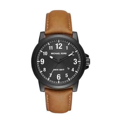 Michael Kors MK8502 Horlogeband Bruin Leer