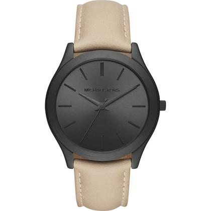 Michael Kors MK8510 Horlogeband Beige Leer