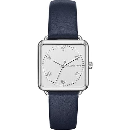 Michael Kors MK2572 Horlogeband Blauw Leer