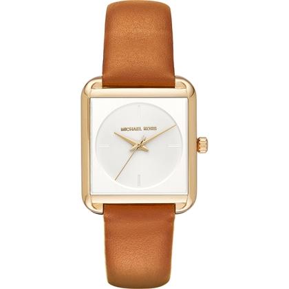 Michael Kors MK2584 Horlogeband Bruin Leer
