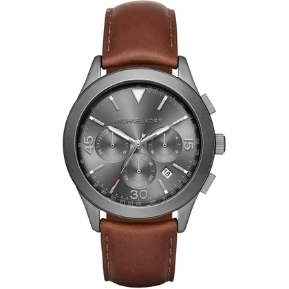 Michael Kors MK8471 Horlogeband Bruin Leer