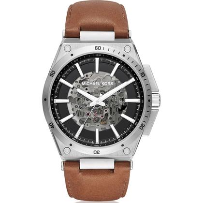 Michael Kors MK9030 Horlogeband Bruin Leer