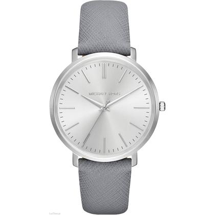 Michael Kors MK2470 Horlogeband Grijs Leer