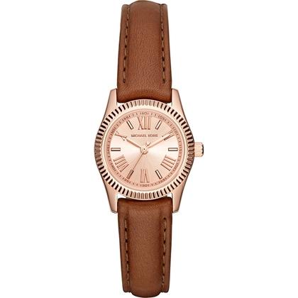 Michael Kors MK2540 Horlogeband Bruin Leer